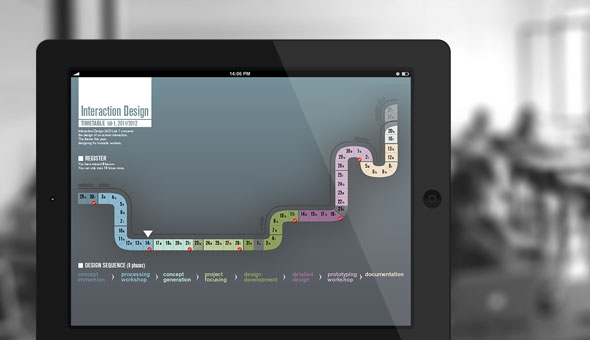 INTERACTIVE TIMETABLE